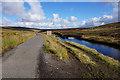 NY7533 : Weir on Trout Beck near Tynehead Fell by Ian S