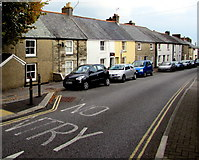 SW7834 : On-street parking, Helston Road, Penryn by Jaggery