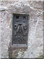NU2229 : Ordnance Survey Flush Bracket (11066) by Adrian Dust