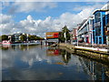 SK9771 : Brayford Pool in Lincoln by Mat Fascione