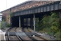 SJ3587 : Bridge carrying Caryl Street over the railway at Brunswick Station by Mike Pennington