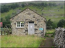SD9772 : Telephone Exchange, Kettlewell by Graham Robson