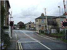 TM3863 : Level crossing on Station Approach by JThomas