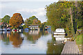 TQ1067 : Autumn on the Thames by Alan Hunt