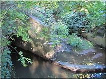 TQ3295 : Salmon's Brook at the southeastern end of the Clarendon Arch by Mike Quinn