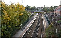 SJ3595 : Walton Railway Station by Mike Pennington