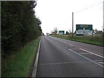 TM1172 : A140 towards Norwich  by JThomas