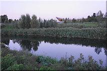 TQ3785 : The River Lee in Queen Elizabeth Olympic Park by Bill Boaden
