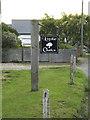 TM0219 : Little Oaks sign by Geographer