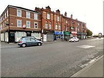 SJ8297 : Shops on Chester Road by Gerald England