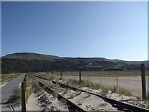 SH6214 : Railway line from Barmouth towards Morfa Mawddach station by I Love Colour