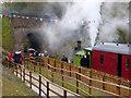 SK5714 : Blowing off at Mountsorrel by Chris Allen