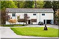 SD3791 : Estate Office, Graythwaite Hall by Ian Capper