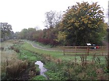 SK5501 : Lubbesthorpe Brook and Ossiers Nature Area by Tim Glover