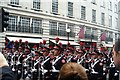 TQ2980 : View of the Ohio State Band turning around on Regent Street #7 by Robert Lamb