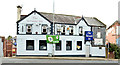 "J3774 : The ""Stormont Inn"", Belfast - October 2015(1) by Albert Bridge"