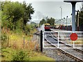 SD8610 : Train Arriving at Heywood Station by David Dixon