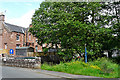 NY4754 : Great Corby - village scene by Rose and Trev Clough