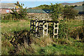 NY6432 : Footbridge over Kirkland Beck, Kirkland by Ian S