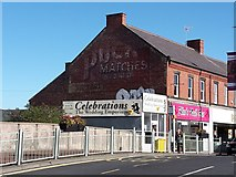 NZ2787 : Buildings on Station Road, Ashington by Graham Robson