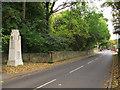 SE2431 : Farnley war memorial by Stephen Craven
