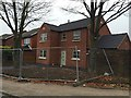 SJ8049 : Miles Green: new house on the corner of Victoria Avenue and Heathcote Road by Jonathan Hutchins