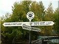 SP0487 : Rotton Park Junction fingerpost by Alan Murray-Rust