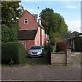 TL4856 : Cherry Hinton: Mansard roofs on Mill End Road by John Sutton