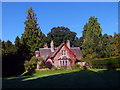 NO3848 : Glamis Castle, Garden House by Stanley Howe