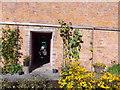 NO3848 : Doorway to gardener's shed by Stanley Howe
