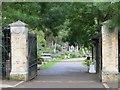 TQ2886 : East Cemetery Gates by Bill Nicholls