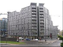 NT2572 : Wharton Square apartments by M J Richardson