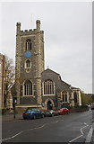 SU7682 : St Mary's Church, Hart Street by Roger Templeman