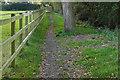 SU8771 : Footpath near Warfield by Alan Hunt