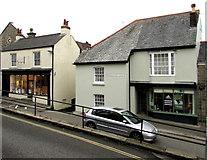 SW7834 : From Lower Market Street to West Street, Penryn by Jaggery