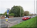 SE2235 : Road narrowing on Intake Lane by Stephen Craven