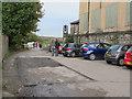 SE2236 : Former weighbridge, Moss Bridge Road, Rodley  by Stephen Craven
