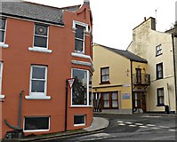 SC2667 : Corner of Castle and Bank Streets, Castletown by Richard Hoare