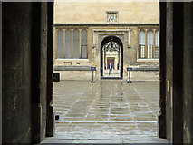 SP5106 : Bodleian Library courtyard, Oxford by Dylan Moore