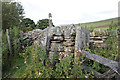 NY7638 : Stile at Dorthgillfoot by Ian S
