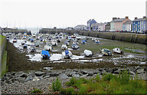 SN4562 : The harbour at Aberaeron in Ceredigion by Roger  Kidd