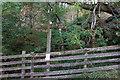 NY7440 : Finger post at Windshaw Bridge by Ian S