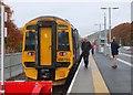 NT5234 : Train at Tweedbank Station by Jim Barton