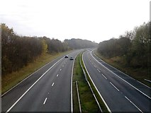 NZ2412 : A1(M) southbound near Cleasby by JThomas