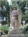 TQ2887 : Angel with a Wreath by Bill Nicholls