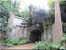 TQ2887 : Entrance to the Tombs by Bill Nicholls