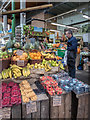 TQ3280 : Fruit Stall, Borough Market, London SE1 by Christine Matthews