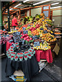 TQ3280 : Fruit and Vegetable Stall, Borough Market, London SE1 by Christine Matthews