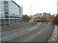 SE2933 : Leeds inner ring road A58(M) by Stephen Craven