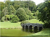 ST7733 : The Palladian Bridge,  Stourhead by Derek Voller
